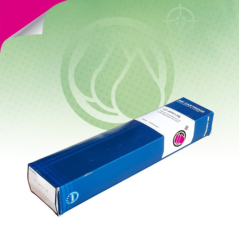 CFP Ink Cartridge for use in HP 913M Magenta - 3000pag